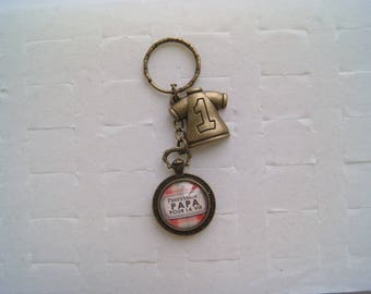 "Keychain ""Daddy forever profession"""