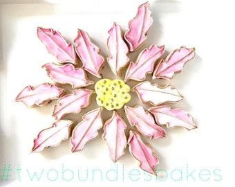 Wild Flower 18 cookies