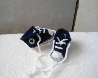 baby/reborn form 0/3 month Navy Blue basketball shoes