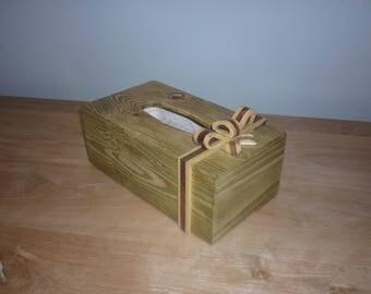 A Present tissue box