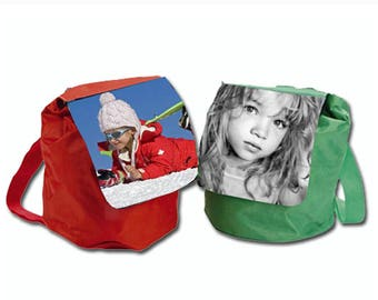Backpack for kids personalized with photo