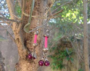 Earrings from Sichuan, mixture of tradition and modernity
