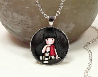 Necklace little girl pendant