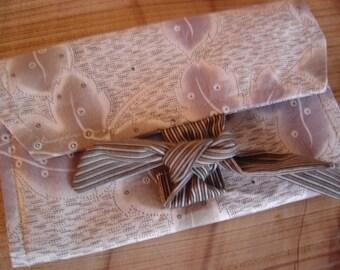 Gray tie wrap