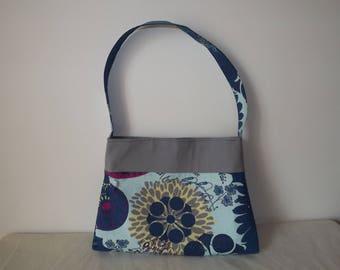 in shades blue shoulder bag