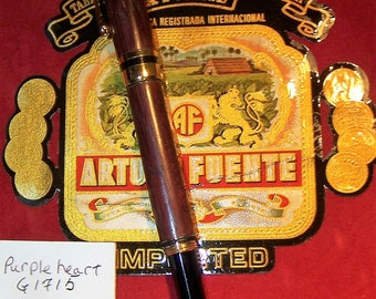 Wood Pen, Gentlemans Pen, Wood Crafted, Hand Crafted