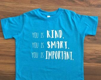 Kind, Smart, Important - Toddler/Children's Tee