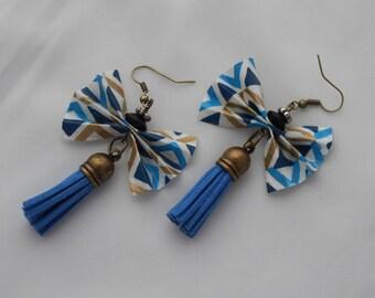 """""""Bow"""" earrings"""