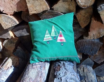 Evergreen Stuffed Pillow