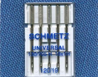 Standard needles Schmetz n. 120 for sewing machine