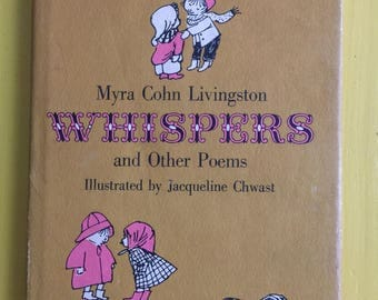 Myra Cohn Livingston - Whispers and Other Poems - SIGNED FIRST EDITION - 1958
