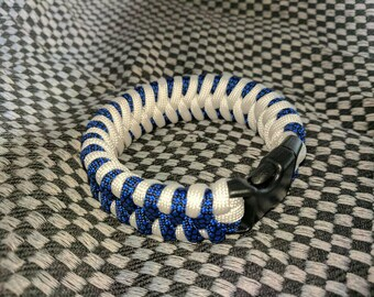 Zawbar paracord wristband / bracelet with buckle