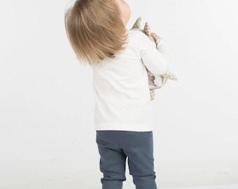 TUDU Blue Pants, UHUU, Children Pants, Pajamas, Cotton, Oeko-Tex,