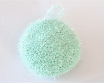 Sponge ware crocheted shape round - Tawashi zero waste
