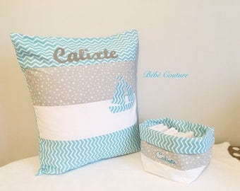 Baby boy - Calixte collection - baby sewing box