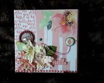 Mini Scrapbook photo album