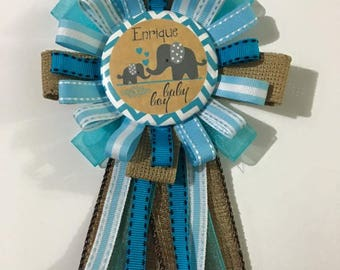 pin corsage baby shower