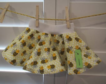 Bee Baby Infant Skirt, Circle Skirt, Size 6 months