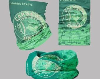 Capoeira Brasil - GCB - Face Shield Mask, Multifunctional Tubular
