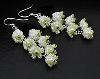 Lily of Valley universal pretty pair of brand new earring