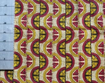Fabric African Wax Ref S127