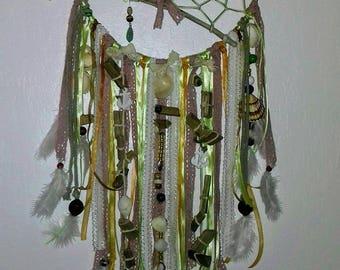 Dream catcher nature green rope