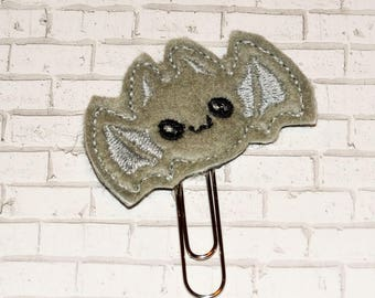 Cute Little Bat Planner Clip