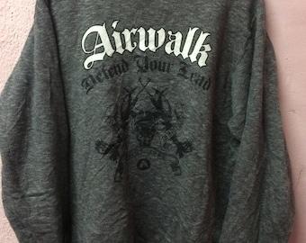 Airwalk defend your lead sweatshirt     Vintage
