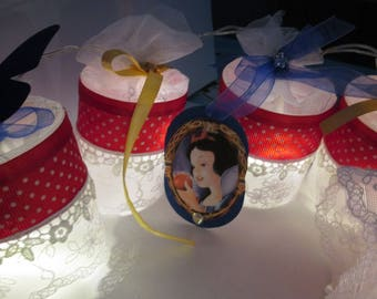 Bright fairy tales, snow white and the seven dwarfs Customizable Garland
