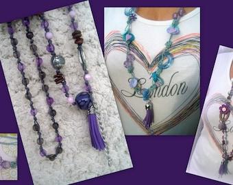 SET of 2 necklaces necklaces *.