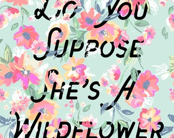 Alice In Wonderland - Do You Suppose She's a Wildflower