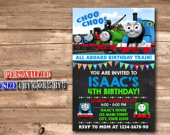 Thomas The Train Invitation,Thomas The Train Birthday,Thomas The Train Birthday Invitation,Thomas The Train Party,Thomas The Train-468