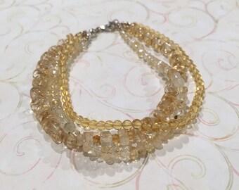 Gaia's Grace Jewelry - Genuine Citrine Bracelet