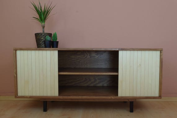 Lowboard hifi  Retro mid century TV stand table cabinet Lowboard HiFi
