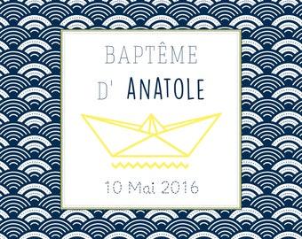 Announcements baptism, Little Boat