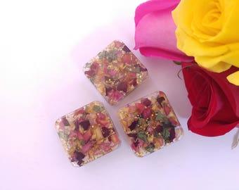 Rose Petal Magnets - Gold (3-Pack)
