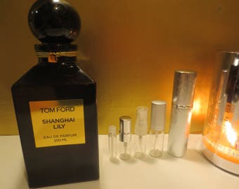 Tom Ford - Shanghai Lily 1-10ml travel samples, niche perfume.