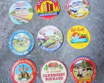 Camembert cards - Vintage
