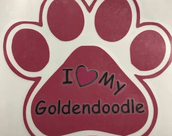 I love my goldendoodle