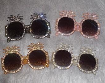 "Pineapple ""Cammy"" Sunglasses"