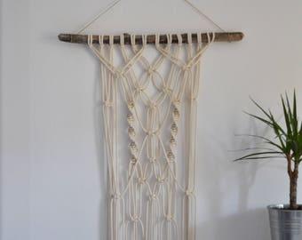 Handmade Macrame Wall Hanging Cotton Boho Tapestry