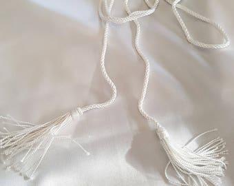 White cord for Caftan belt