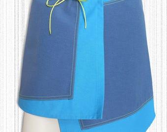 Skirt D.k.lee: asymmetric short skirt