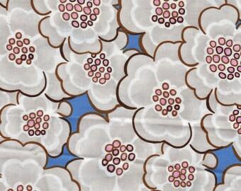 Fabric Petals Blue - 12.5 x 110 cm - REF. cou.03