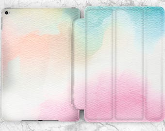 Watercolor Smart case Flip case iPad flip case iPad smart case iPad mini 2 case iPad air case iPad mini 4 case iPad pro case iPad 2 case