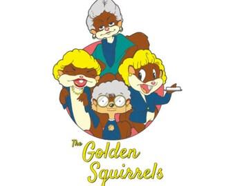The Golden Squirrels Tee