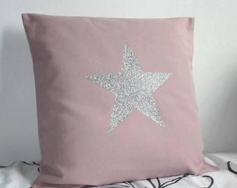 Sweet Coocooning 40 x 40 cm cushion sewing kit pink