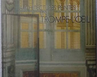 Art book 'painted in trompe l'oeil Architectures.