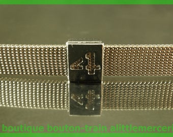 bead width Figure 4 perforated aluminum number number for bracelet