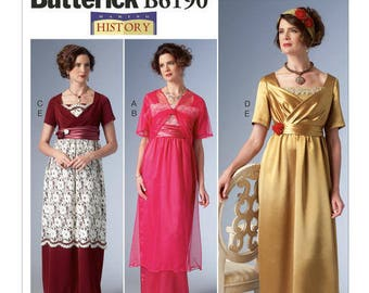 Vintage by B6190 making history Butterick sewing pattern
